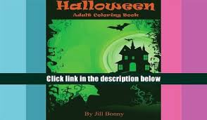 Download Halloween Adult Coloring Book Advanced Pages Jill Bonny For