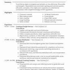 Bus Driver Resume Template Gallery Sample For Truck No Experience ...
