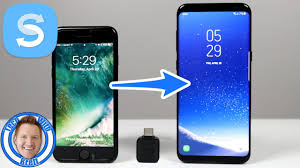 iPhone Transfer to Galaxy S8 With Samsung Smart Switch 2017