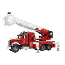 Harga Bruder Toys 2821 Mack Granite Fire Engine With Ladder & Water ...