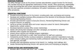 Sample Resume Office Manager Construction Company Unique Job Description Weoinnovate