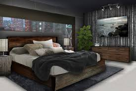 Best Inspirations For Male Bedroom Designs Modern Grey Scheme