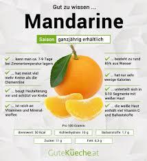 mandarine gutekueche at