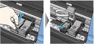 3Remove The Empty FINE Cartridge