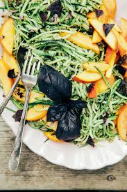 Spring Hope Pumpkin Festival 2014 by Anya U0027s Zucchini Spaghetti With Pumpkin Seed Pesto Peaches The