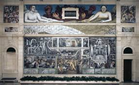 Diego Rivera Rockefeller Mural by Detroit Through The Eyes Of Diego Rivera And Frida Kahlo