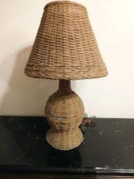 Small Table Lamps At Walmart by Rattan Lamp Shades Table Lamps Antique Wicker Table Lamp Shade