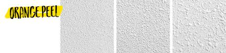 3 types of drywall textures