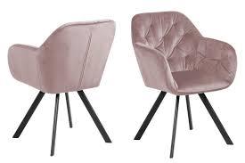 ebuy24 esszimmerstuhl lora esszimmerstuhl mit armlehne rosa kaufen otto