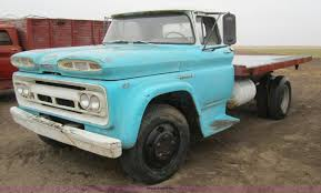 1960 Chevrolet 60 Viking Flatbed Truck | Item 6342 | SOLD! A...
