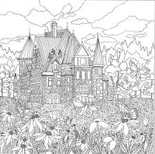Legendary Landscapes Is A Unique Adult Coloring Book Inside This You Will Find Kaleidoscope Of Adventures To Underwater Realms Magical Forests