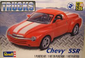 Chevrolet Ssr Trucks Series Revell 1:25 Scale Plastic Model Truck ... Chevy Chevrolet Ssr Truck Rare 164 Limited Colctible Diecast Find Out Why The Chevy Was Epitome Of Quirkiness 2004 Chevrolet Gaa Classic Cars Amazoncom 1 Badd Ride 2005 Green Truck Series 2 Unloved By The Masses Retro Sport Truck Is A Hot Indy 500 Pace Vehicle 2003 Pictures Information For Sale Classiccarscom Cc1160766 Ssr Trucks Series Revell 125 Scale Plastic Model Used Of 54 510 Km At 32 Kehl Germany Oct 18 2016 Parked In City Center