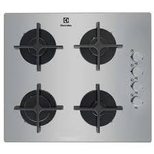 table de cuisson gaz 4 foyers electrolux egt6142no electrolux