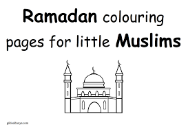 Ramadan Colouring Pages For Little Muslims Gilded Dunya
