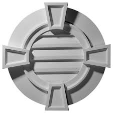 Decorative Gable Vents Products by Ekena Millwork Gable Vents Round Gable Vent With Keystones