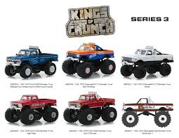 100 Midwest Truck Products Kings Of Crunch Series 3 Set 6 Monster S 164 Diecast Model
