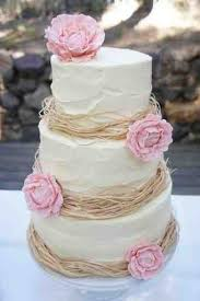 Rustic With Raffia Or Could Incorporate The Gold A Different Material And Vegan Wedding CakesRustic