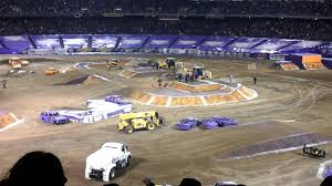 4 Monster Trucks HotWheels Competition Oakland 2015 Monster ... Rd4 Monster Energy Ama Supercross At Oakland Falken Tire 100 Truck Jam Youtube Digger S Club Seating Tickets Available Malia Walmart Union City Ca Checking Out Team Hotwheels Returns To Oakndalameda County Coliseum This Lil Trucks Debut The Coles Fair Jgtc Jgtccom 4 Hotwheels Competion 2015 2017 Track Layouts Transworld Motocross Tickets Seatgeek See Exciting Action From Ryan Anderson Grave Freestyle 22313 Youtube
