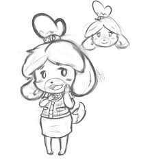 Animal Crossing New Leaf Coloring Pages Page For Kids