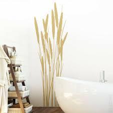 wandtattoo wandsticker wandaufkleber gras badezimmer