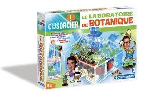 c est pas sorcier laboratoire de botanique clementoni jeux