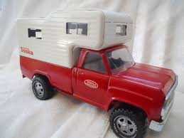 Vintage Tonka Pickup Truck & Cab Over Camper Shell Very Good ...