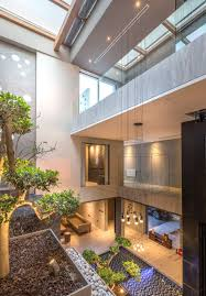 100 Modern Homes With Courtyards The Design Of This House Placed A Priority On Its Sea