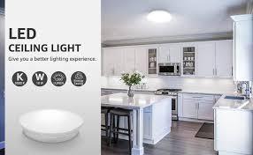 le 18w deckenle 5000k led deckenleuchte 1200lm ø28cm le ideal für badezimmer balkon flur küche wohnzimmer schlafzimmer kaltweiß licht