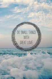 Quote Love And Things Image