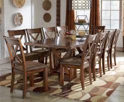 Waurika 11-Piece Extension Table Set By Signature Design By ... Sets Decor Fo Height Centerpieces Bath Farmhouse Set Lots 26 Ding Room Big And Small With Bench Seating 20 Dorel Living 5 Piece Rustic Wood Kitchen Interior Table For Sale 4 Pueblo Six Chair By Intertional Fniture Direct At Miskelly Dporticus 5piece Industrial Style Wooden Chairs Rubber Brown Checkout The Ding Tables On Efniturehouse Cluding With Leather Thompson Scott In 2019 And Chair Extraordinary Outside