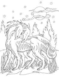 Adult Coloring Book Dragon World