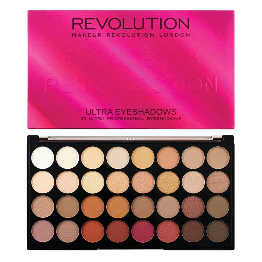 Makeup Revolution Ultra 32 Shade Eyeshadow Palette - Flawless 3