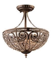 chandelier flush ceiling chandeliers flat ceiling light flush