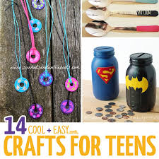 14 Cool Crafts For Teens Moms And Crafters Easy To Do At Home