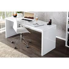 bureau pas cher blanc bureau blanc en 140 dans meuble de bureau achetez au meilleur prix