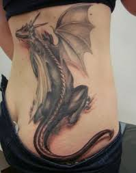 Dragon Tattoos On Lower Back