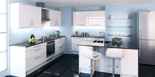 idees cuisine moderne cuisine blanche moderne avec modele deco cuisine stunning modele de