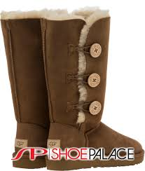 ugg 1016227 che bailey button triple ii women boot chestnut at