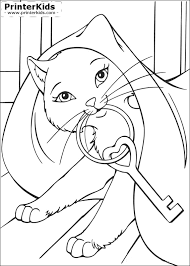 18 Barbie Printables Coloring Pages