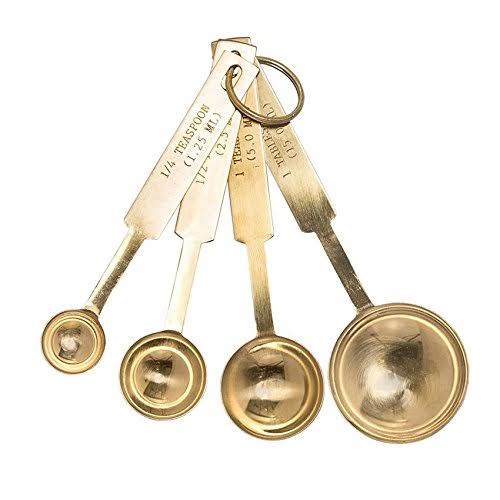 Bloomingville Stainless Steel Measuring Spoons - Gold