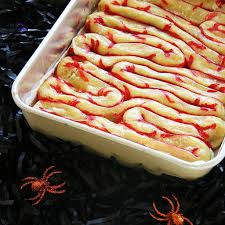 Halloween Potluck Sign Up Sheet Ideas by Pastry Intestines Puff Pastry Intestines At The Knead For Speed