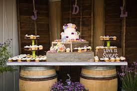 Rustic Wedding Cake Table Ideas Dessert