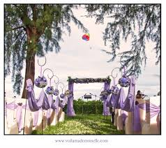 Purple Beach Wedding Ideas Outdoor Garden Lone Pine Penang