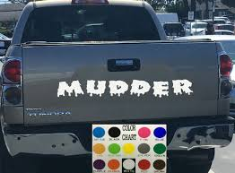 Muddin Tailgate Decal Sticker 4x4 Diesel Truck SUV | Tailgating And ... Tailgate Decal Cely Signs Graphics Hogtied Woman Featured On Tailgate Decal Police Thin Blue Line Flag Truck Wrap Vinyl Graphic Etsy Compact Realtree All Purpose Black Camo Lettering Decals On Marketing Pssure Washing Resource Gmc Sierra Sierra Rally Rally Edition Hood Silverado Tailgate Letters Chevy Silverado Name Grand 52019 Colorado Rear Blackout Accent F150 Matte Black Lower Panel 1517 42018 Stripes 2019 20 Dodge Ram Racing
