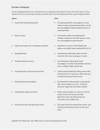 Good Resumes Examples Fresh Resume Objective General Template Fice Of