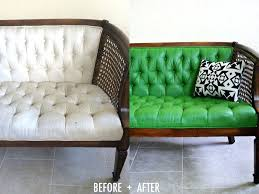 teindre canapé peinture canape tissu relooker meuble teindre canape tissu non