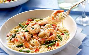 Shrimp Scampi Lunch & Dinner Menu