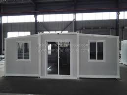 100 Luxury Container House 20ft Luxury Expandable Container House