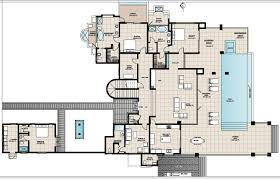 100 Modern Beach House Floor Plans Level Single Story Mediterranean Two Open Concept