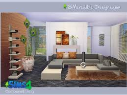 canelli livingroom by simcredible at tsr sims 4 updates